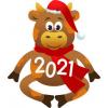 Символ 2021 года (Бык)