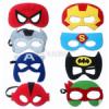 Фетровые маски на глаза