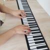 Гибкое и складное пианино