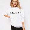 Одежда с логотипом из серила Friends