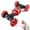 Трюковая Stunt машинка перевертыш управление рукой