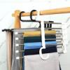 Мультифункиональная телескпоическая вешалка для брюк