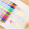 Двухцветный серебристый контурный маркер