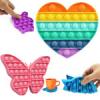 Push pop bubble - Лопаем пузыри пальчиками - сенсорная игрушка