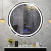 Умное зеркало с подсветкой для ванной комнаты