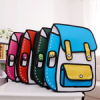Jump from paper 2d мультяшные рюкзаки и сумки