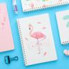 Блокноты с фламинго