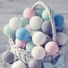 Хлопковые Тайские шарики (Cotton balls)