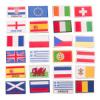Значки с флагами стран