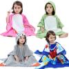 Детские полотенца с капюшоном (Полотенце-пончо)