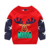 Детский новогодний свитер