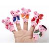 Куклы-игрушки на пальцы (Свинья)