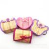 Маленькие сумки из бамбука